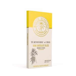 Wunder Workshop Turmeric Chocolate for Wellbeing and Health