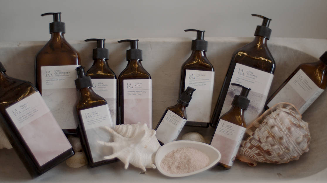 La Eva wellbeing collection at wellbeing shop Gazelli House London