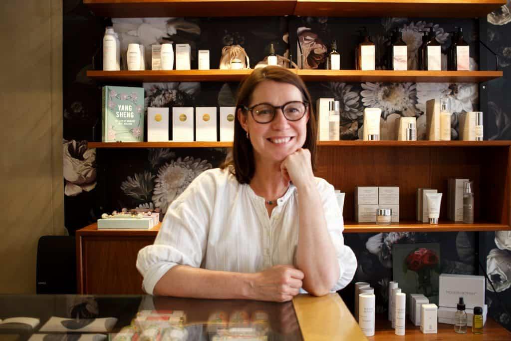 London menopause skin expert Justine Masters at South Kensington spa Gazelli HOuse